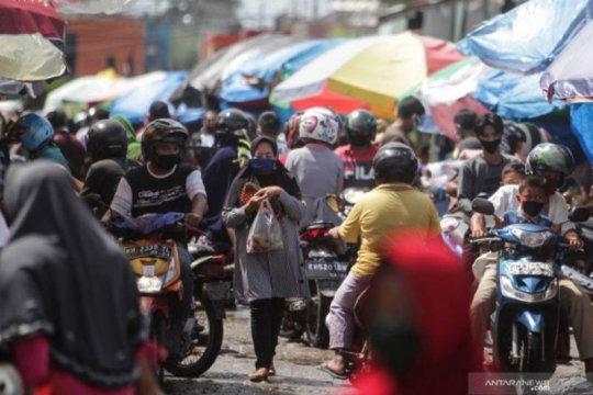 Di Pasar Besar Palangka Raya ditemukan 27 kasus positif COVID-19