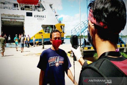 Kotawaringin Timur rapid test penumpang dan ABK  di Pelabuhan Sampit