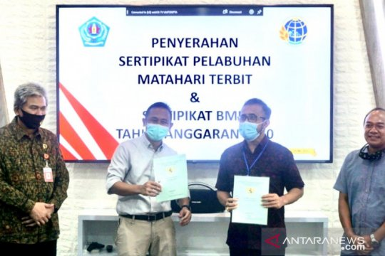 Denpasar terima sertifikat tanah Pelabuhan Matahari Terbit Sanur