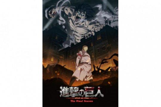 "Anime ""Attack on Titan"" akan segera masuki musim terakhir"