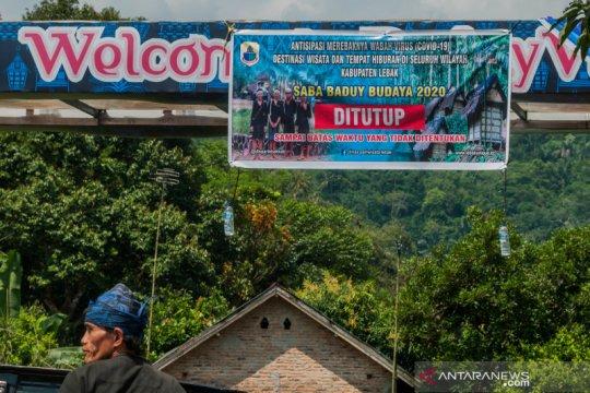 Wisata kawasan Suku Baduy ditutup