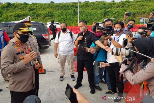 Kapolda: 3.400 kendaraan akan tinggalkan Jateng diputar balik