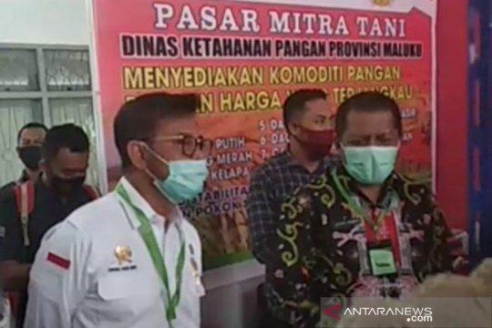 Mentan: Pasar Mitra Tani bukan untuk saingi pasar tradisional