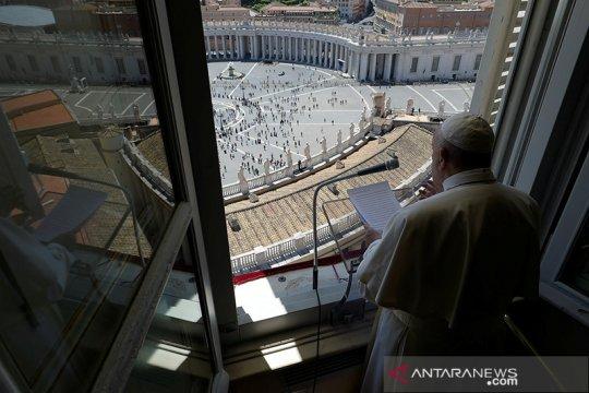 Pimpin Misa Minggu Palma, Paus sebut iblis manfaatkan pandemi corona
