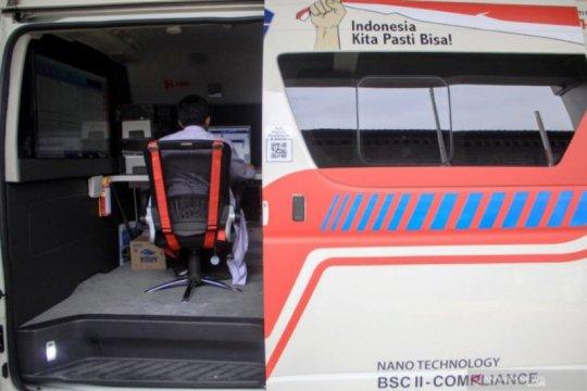 Pemprov Jatim: Ada satu mobil lab PCR khusus untuk Surabaya