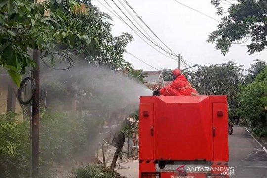 46 lokasi di Jakarta disemprot disinfektan secara serentak
