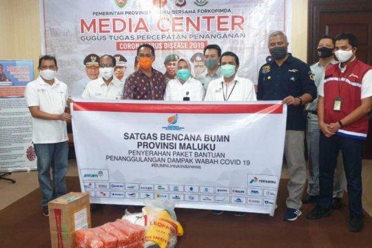 Satgas BUMN salurkan 7.981 paket bantuan di Maluku