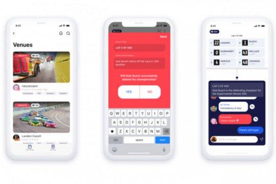 Facebook buat aplikasi obrolan interaktif, saingi Twitter