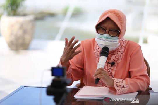 Risma : Warga Surabaya mampu amalkan nilai Pancasila saat pandemi