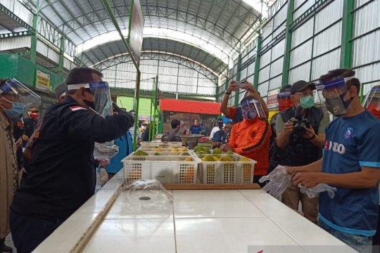 Pasar OroOro Dowo jadi percontohan menuju normal baru di Kota malang