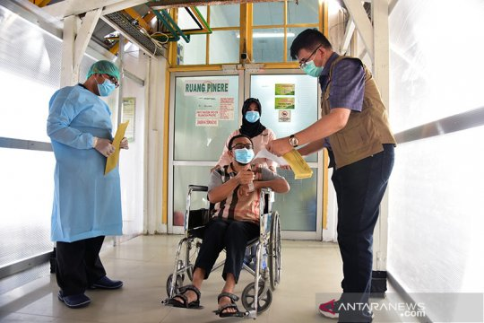 Pasien COVID-19 terakhir di RSUD AA Riau dinyatakan sembuh