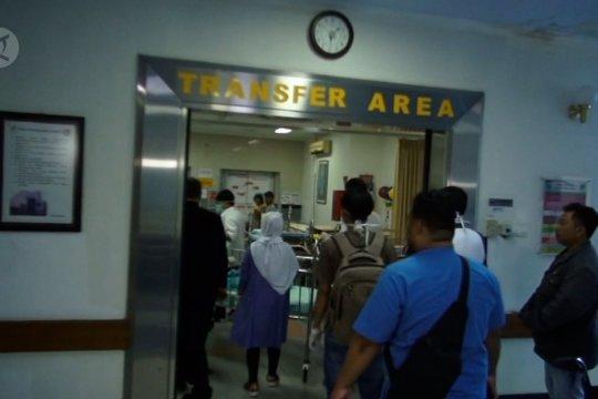 Pasien COVID-19 berdatangan di RSUD Dr Soetomo