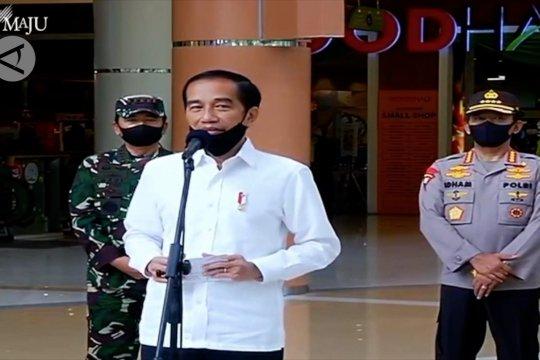 Presiden Jokowi: Kembali produktif dan aman COVID-19