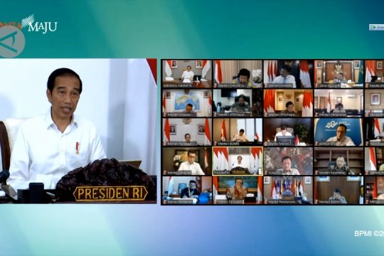 Presiden minta proyek strategis nasional tetap berjalan