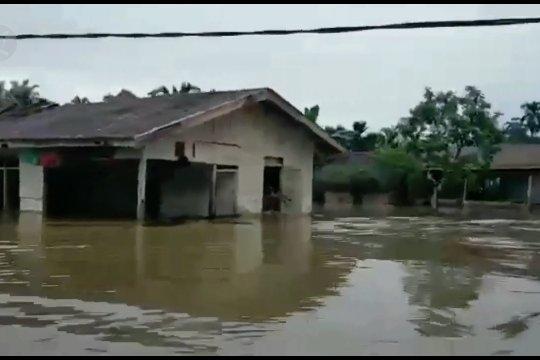 Banjir Siberut Mentawai, 12 desa terendam banjir