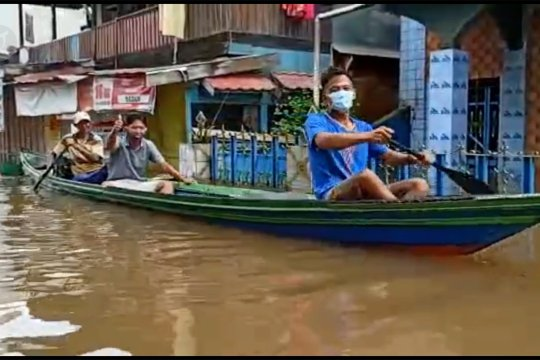 Banjir Barut rendam 8 kecamatan