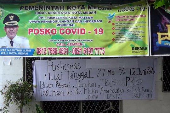 Dua kepala puskesmas positif COVID-19, layanan dialihkan