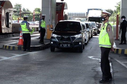 Idul Fitri, Tol Cikupa putar balik 63 kendaraan