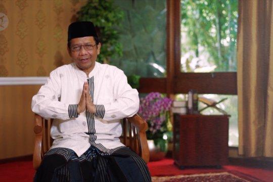 Mahfud MD ajak masyarakat rayakan Idul Fitri di rumah