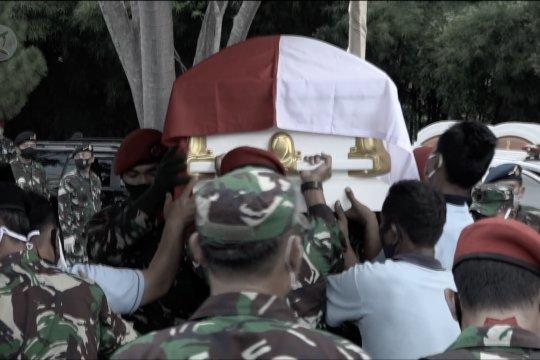 Panglima TNI pimpin upacara pemakaman Djoko Santoso