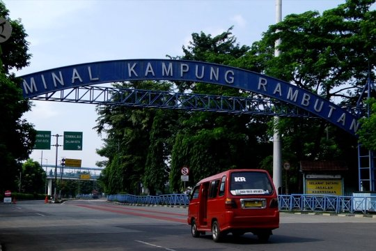 Jelang Lebaran, terminal Kampung Rambutan tak beroperasi