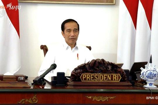 Jokowi minta kepala daerah perkuat Gugus  COVID-19 di tingkat RT/RW