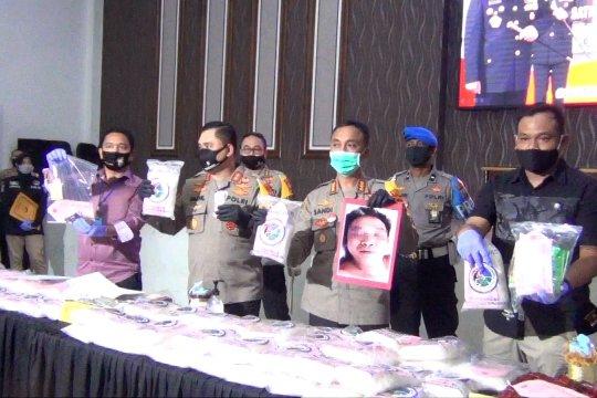 Polrestabes Surabaya ungkap 100 kg sabu, tersangka tewas ditembak