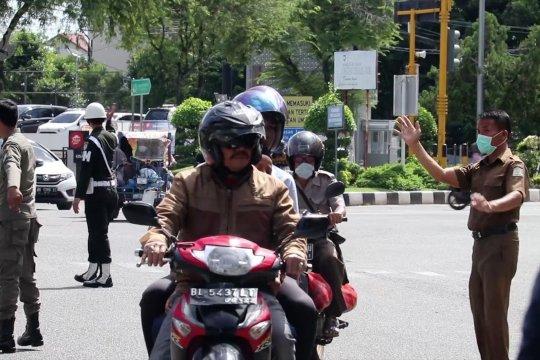 Tidak pakai masker di Banda Aceh akan kena tilang