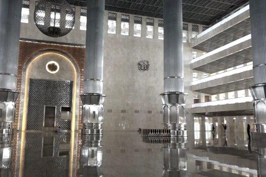 Jelang normal baru, Masjid Istiqlal belum gelar pelaksanaan ibadah