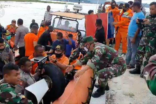 Pesawat milik maskapai MAF jatuh di Danau Sentani