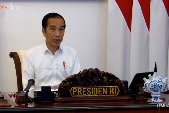 Presiden minta para menteri kelola pangan pada musim kemarau