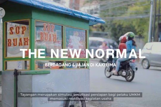 ''New Normal'', berdagang dan jajan di kaki lima