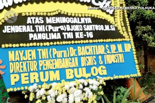 Mantan Panglima TNI Djoko Santoso dimakamkan di San Diego Hills