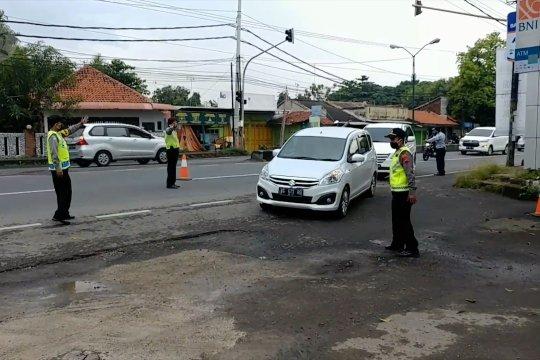 Razia penyekatan kendaraan arus balik di jalur Pantura diperketat