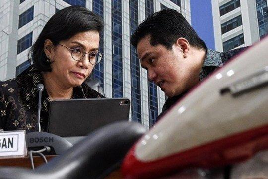 Pemerintah bantu selesaikan utang Garuda Rp7,5 triliun