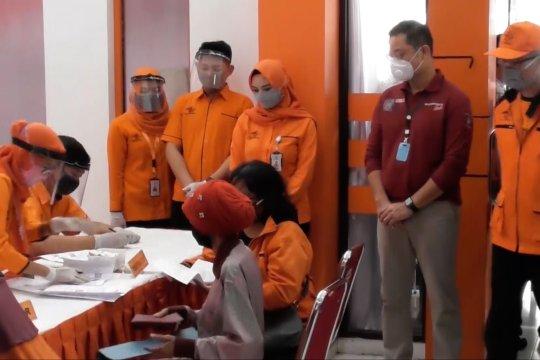 Mensos pantau penyaluran BST di Semarang