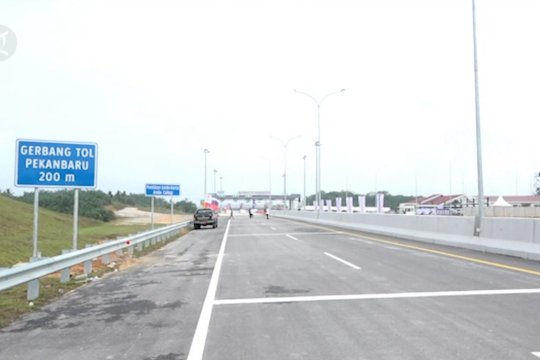 Pembangunan Tol Pekanbaru-Dumai capai 98 persen