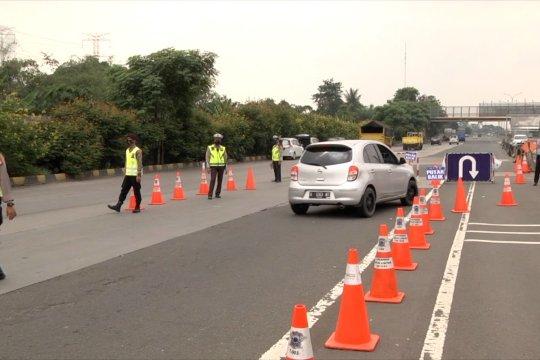 H+7 Lebaran, lebih dari 70 kendaraan di Tol Cikupa diminta putar balik