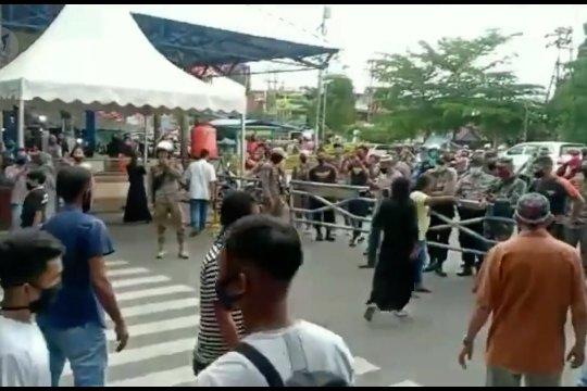Kronologi kerusuhan di Pasar Payakumbuh