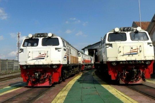 Manfaatkan masa pandemi, Depo Yogyakarta lakukan perbaikan lokomotif