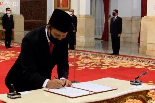 Presiden lantik Irjen Pol Boy Rafli Amar sebagai kepala BNPT