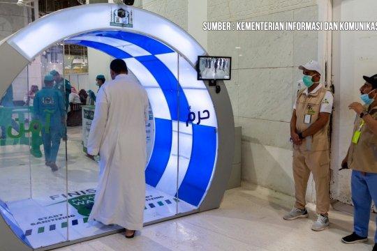 Saudi Arabia pasang gerbang sterilisasi di Masjidil Haram dan Nabawi