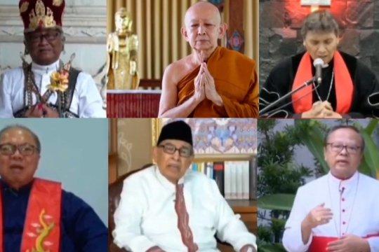 6 tokoh agama panjatkan doa, memohon dibebaskan dari COVID-19