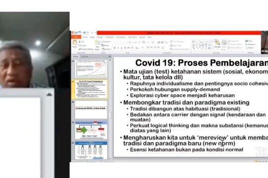 COVID-19 sebagai ajang membangun norma-norma baru