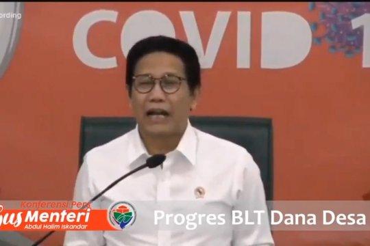 Menteri Desa: Tambahan nilai BLT Desa belum final