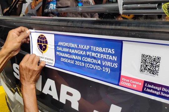 Meski berstiker khusus, polisi akan tetap cek awak bus AKAP