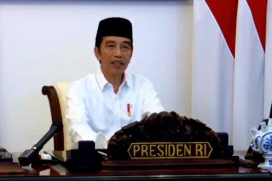 Presiden : Bangkitnya rasa kemanusiaan, kekuatan atasi COVID-19