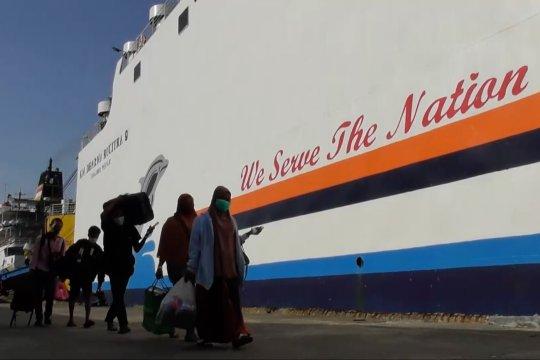 Protokol kesehatan PMI saat tiba di Pelabuhan Tanjung Emas