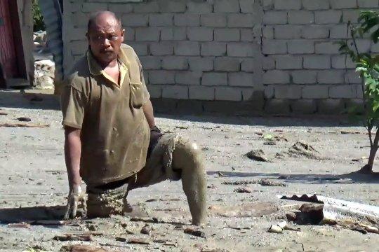 Puluhan rumah di Sigi terkepung lumpur