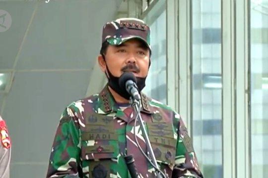 Ini penjelasan Panglima TNI atas peran TNI & Polri mendisiplinkan protokol kesehatan